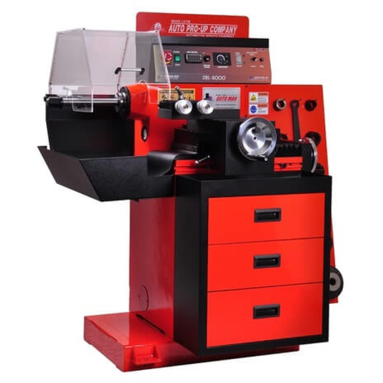 AutoPro Up DBL-5000 Disk and Drum Lathe for heavy truck