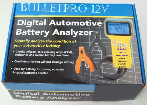 BulletPro 12V Automotive Battery Analyzer