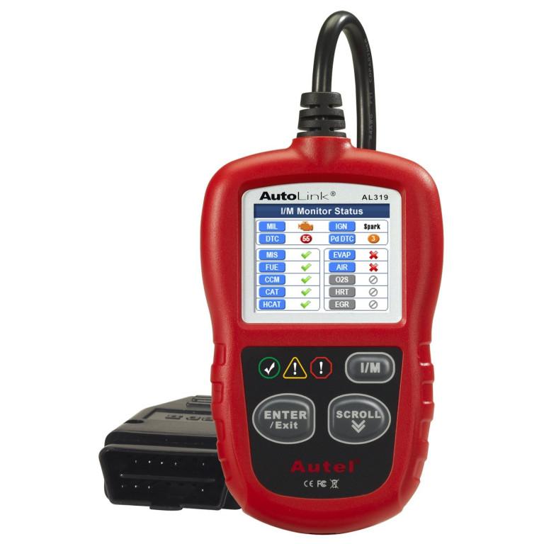 Autel AutoLink AL319 OBDII Code Reader