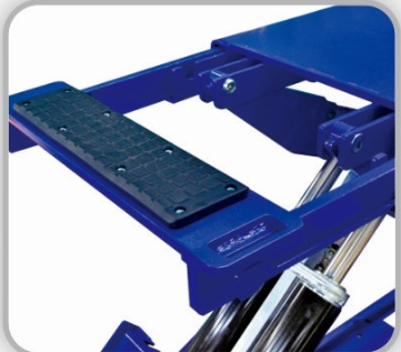 Elite SL556S Scissor Lift with Extention Plate (3 ton)