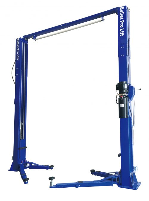 BulletPro BP40M 2 post clear floor 4 ton vehicle hoist car lift (Entry Level) 240V