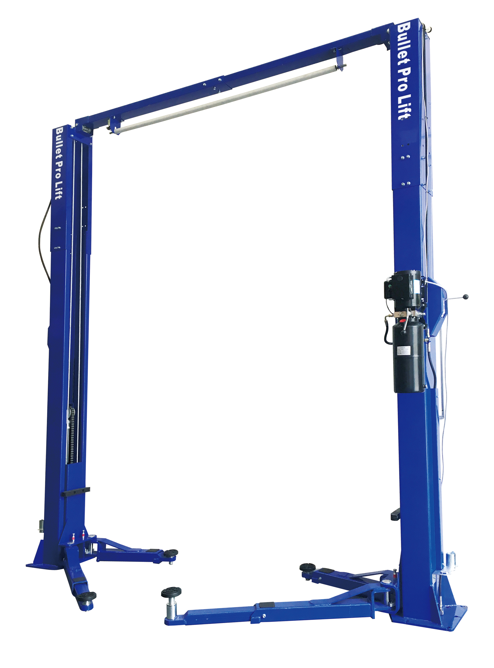 Bulletpro Bp40m 2 Post Clear Floor 4 Ton Vehicle Hoist Car