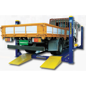 Powerrex SL6000 4 post 6 ton lift with 2 jacks made in Korea