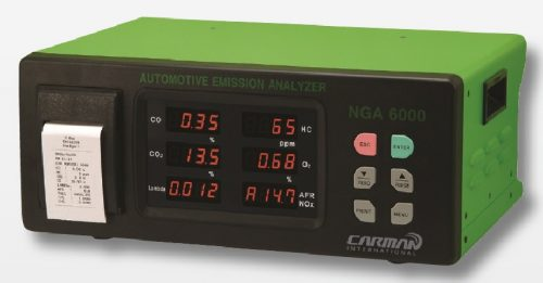 Carman NGA6000 Portable 4 Gas Gas Analyzer with Printer built-in (Made in Korea)