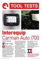 Carman i700 Tool Test on Subaru Diesel Forester ACM JUL AUG PG 32