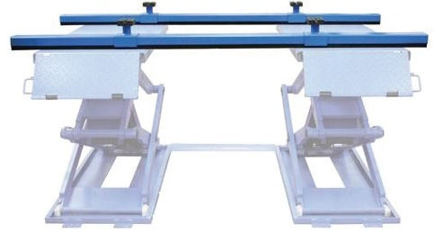 Powerrex SL34DX 3.3 Ton Full Rise Double Scissor Lift (standard: On ground/ Optional: in ground)