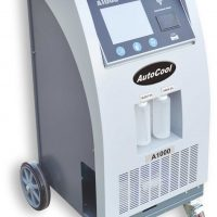 "AutoCool A1000 Full Automatic AC machine for R134A OR R1234YF, built in wifi and 8"" touch screen"
