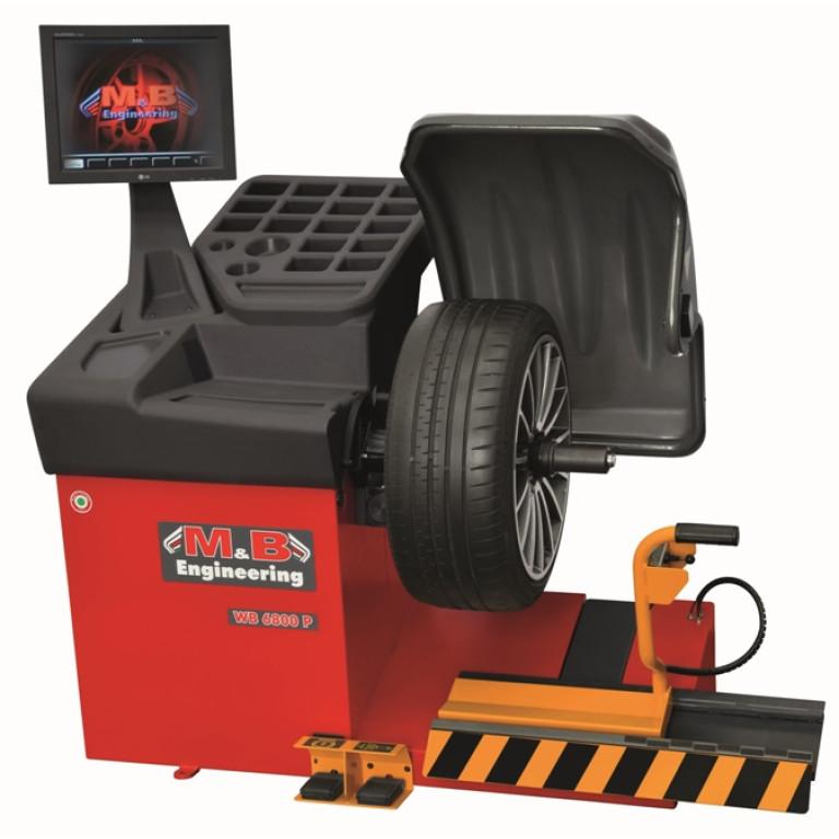 Vehicle Wheel Balancing Machine