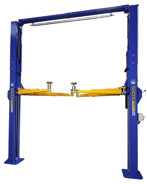 Powerrex SL2750HM 2 post clear floor hoist 4.5 ton Made in Korea (Manual lock release)