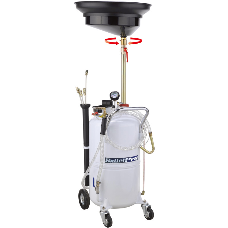 BulletPro SuperDrain90L Pnuematic Waste Oil Drainer